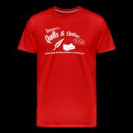 T-Shirts ~ Men's Premium T-Shirt ~ Quills and Sofas