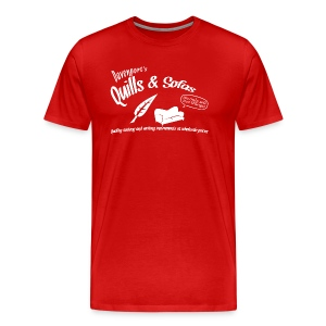 Quills and Sofas - Men's Premium T-Shirt