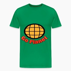 Go Planet - Captain - Planet - Planeteers T-Shirts