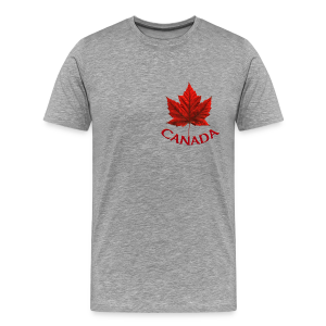 Canada Souvenir Men's 4XL T-shirt Canadian Maple Leaf XXXL T-Shirts - Men's Premium T-Shirt
