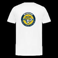 T-Shirts ~ Men's Premium T-Shirt ~ T-Shirt - Large Logo Back