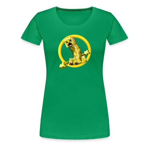 Minecraft Survival Games Logo Girls - Women's Premium T-Shirt