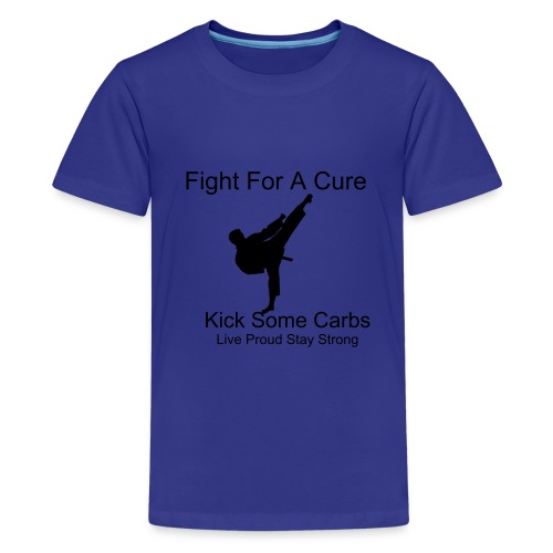 Boys Fight For A Cure - Kids' Premium T-Shirt