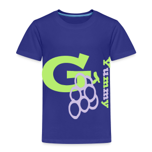 G Grapes Yummy - Toddler Premium T-Shirt