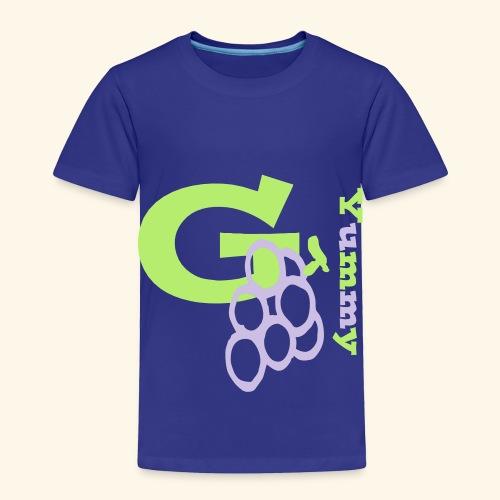 G Grapes Yummy - Toddler Premium T-Shirt