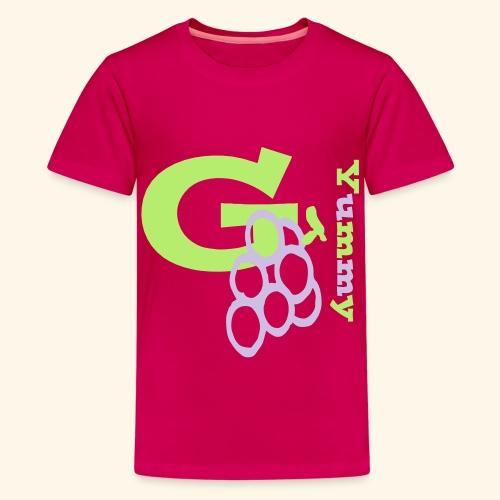 G Grapes Yummy - Kids' Premium T-Shirt