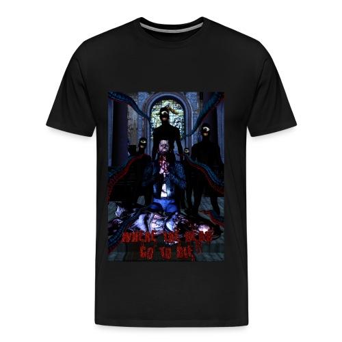Where The Dead Go To Die Original Poster Heavy Weight - Men's Premium T-Shirt