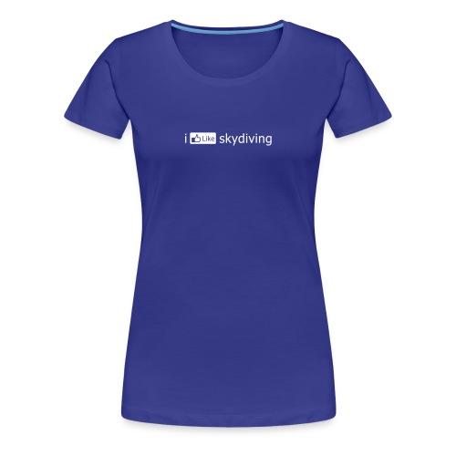 i [LIKE] skydiving (Women's) - Women's Premium T-Shirt