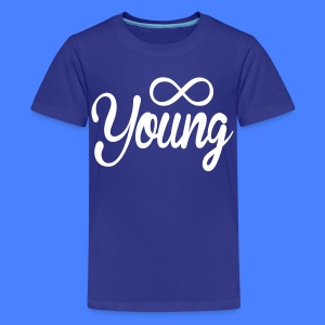 Forever Young Kids' Shirts - stayflyclothing.com - Kids' Premium T-Shirt