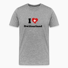 I love Switzerland T-Shirts