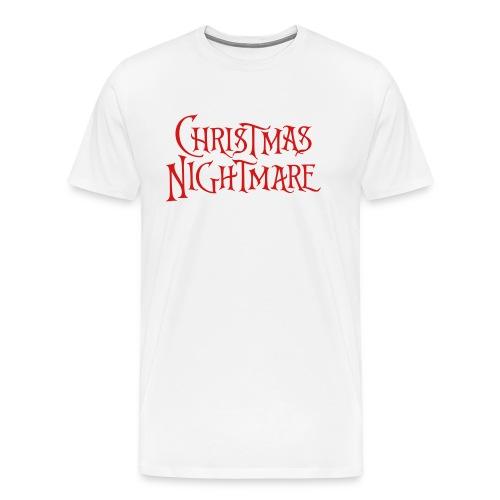 Christmas Nightmare T-Shirt - Men's Premium T-Shirt
