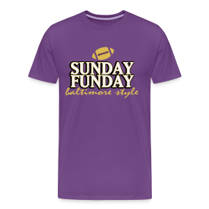 Sunday Funday - T-Shirt - Men's Premium T-Shirt