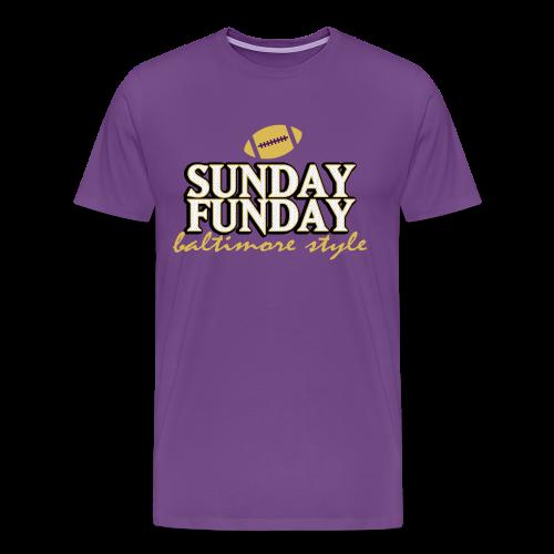 Sunday Funday - T-Shirt - Men's Premium T-Shirt