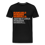 T-Shirts ~ Men's Premium T-Shirt ~ BASEBALL MURDERER