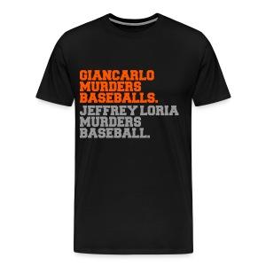 BASEBALL MURDERER - Men's Premium T-Shirt