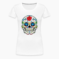 Sugar Skull Women's T-Shirts
