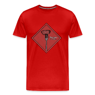T-Shirts ~ Men's Premium T-Shirt ~ Ignorance is Bliss - Matrix   Robot Plunger