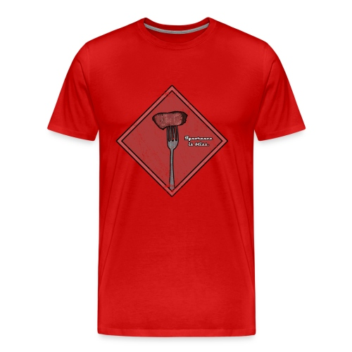 Ignorance is Bliss - Matrix | Robot Plunger - Men's Premium T-Shirt