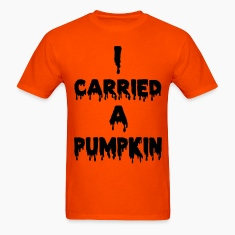 I CARRIED A PUMPKIN