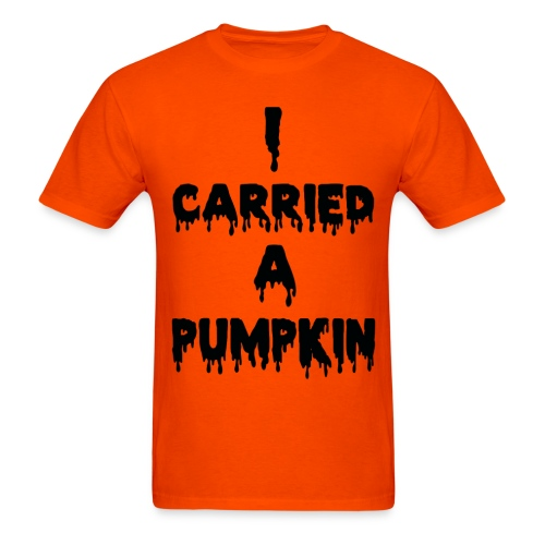 icarriedapumkin - Men's T-Shirt