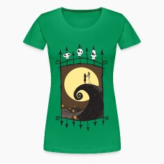 Halloween Scene Women's T-Shirts