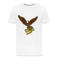 T-Shirts ~ Men's Premium T-Shirt ~ SoaRing in Style Eagle T-Shirt