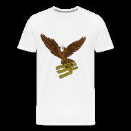 T-Shirts ~ Men's Premium T-Shirt ~ SoaRing in Style Eagle T-Shirt
