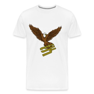 SoaRing in Style Eagle T-Shirt - Men's Premium T-Shirt