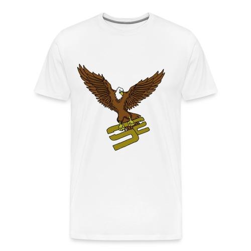 SoaRing in Style Eagle T-Shirt - Men's Premium T-Shirt
