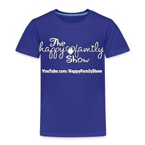 Happy Family Show Toddler white logo T-shirt - Toddler Premium T-Shirt