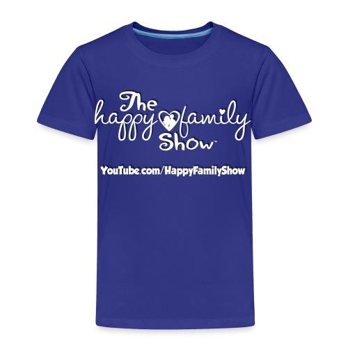 Happy Family Show Toddler white logo T-shirt - Toddler Premium T-Shirt