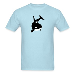 animal t-shirt orca orka killer whale dolphin blackfish - Men's T-Shirt