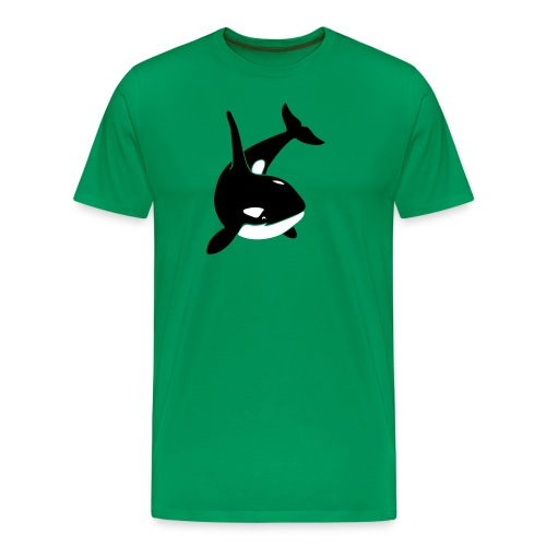 animal t-shirt orca orka killer whale dolphin blackfish - Men's Premium T-Shirt