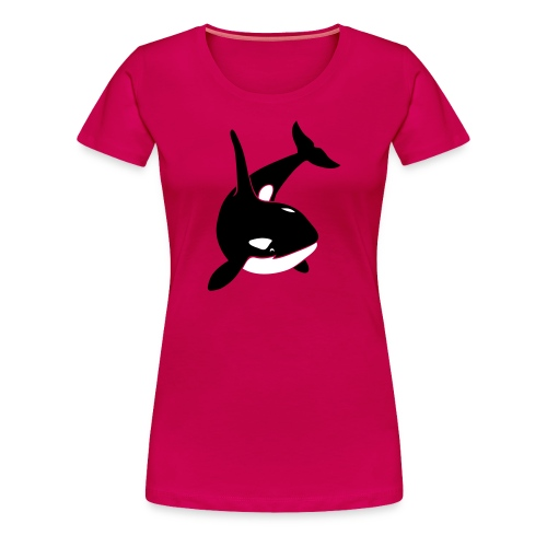 animal t-shirt orca orka killer whale dolphin blackfish - Women's Premium T-Shirt