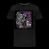 T-Shirts ~ Men's Premium T-Shirt ~ Skitzo The Clown (Mens 3X & 4X T-shirt)