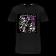 T-Shirts ~ Men's Premium T-Shirt ~ Skitzo The Clown (Men's T-Shirt)
