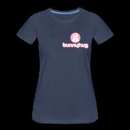 Women's T-Shirts ~ Women's Premium T-Shirt ~ Women's Trecento T with BunnyHug Logo