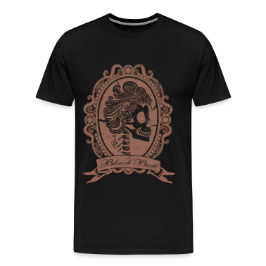 Lady skull Mirror T-Shirts