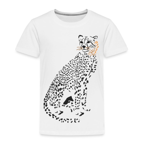 Cha-cha cheetah - Toddler Premium T-Shirt