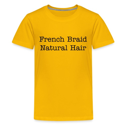 French Braid - Kids' Premium T-Shirt