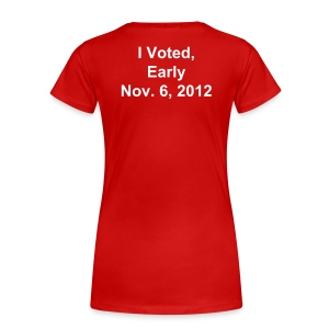 iVoted - Women's Premium T-Shirt