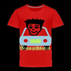 Cruzing in the yard - Toddler Premium T-Shirt