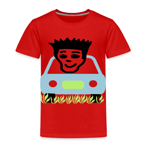 Cruzing in the yard - Toddler Premium T-Shirt