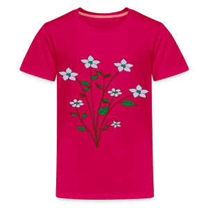 spring flower bunch - Kids' Premium T-Shirt