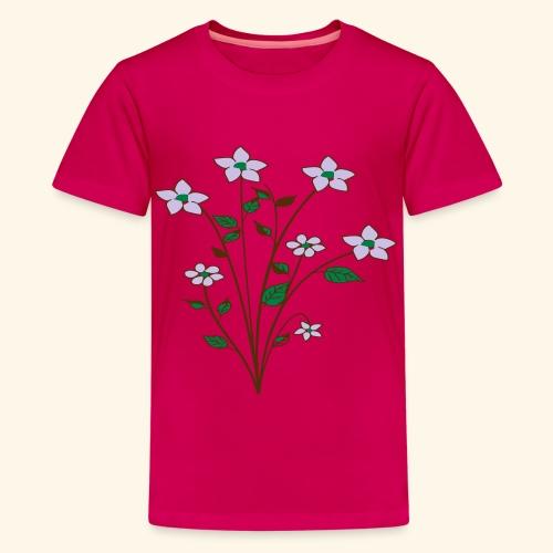 spring flower bunch - Kids' Premium T-Shirt