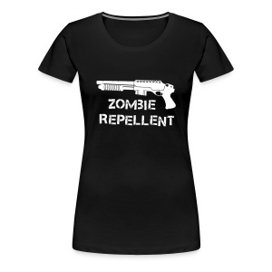 Zombie Repellent - Women's Premium T-Shirt