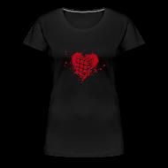 Women's T-Shirts ~ Women's Premium T-Shirt ~ Heart