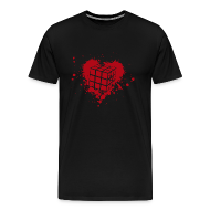 T-Shirts ~ Men's Premium T-Shirt ~ Heart