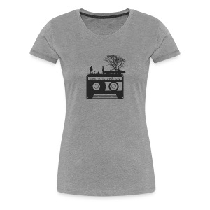 Kick It In The Ass (Swan Song) - Women's Premium T-Shirt