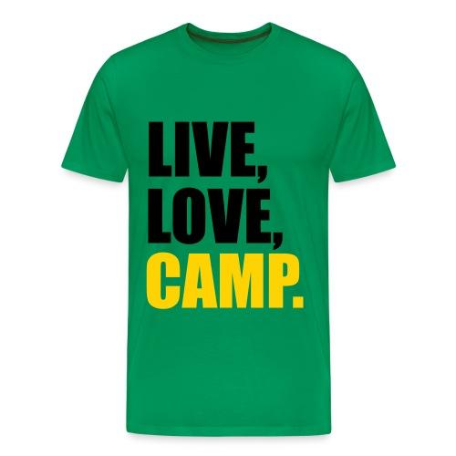 Camping T-Shirt - Men's Premium T-Shirt